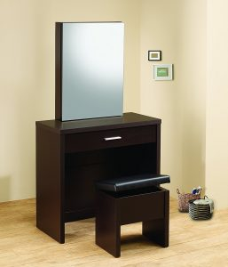 Contemporary Vanity Table Set