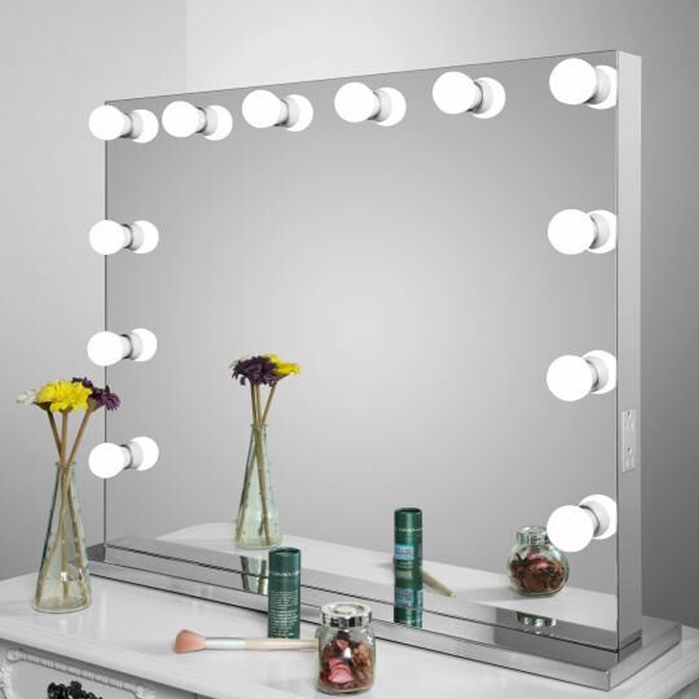 Frameless Vanity Mirror With Lights