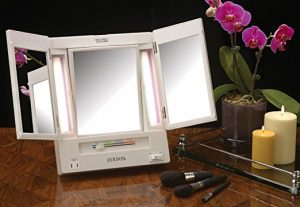 Trifold Vanity Mirror With Magnification