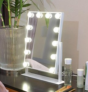 Vanity Mirror With LED Bulbs