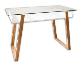 Vanity Table Glass and Wood