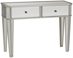 Vanity Table Mirrored Console