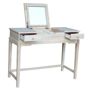 Vanity Table With International Concepts