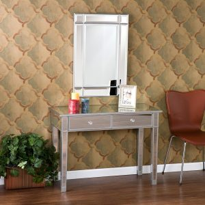 Vanity Table With Mirrors