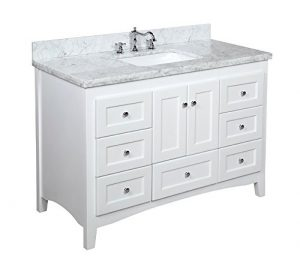 Bathroom Vanity With Marble Countertop