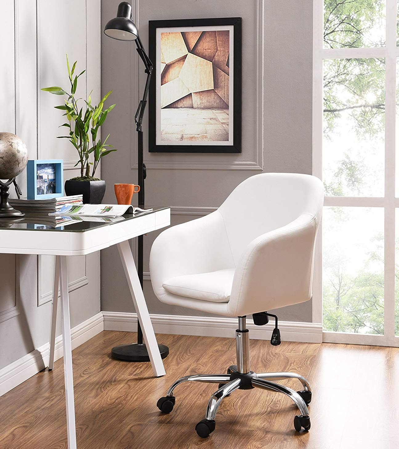 Home Office Chair Executive Mid Back Desk Chair