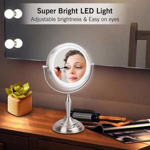 Led vanity mirror for girls