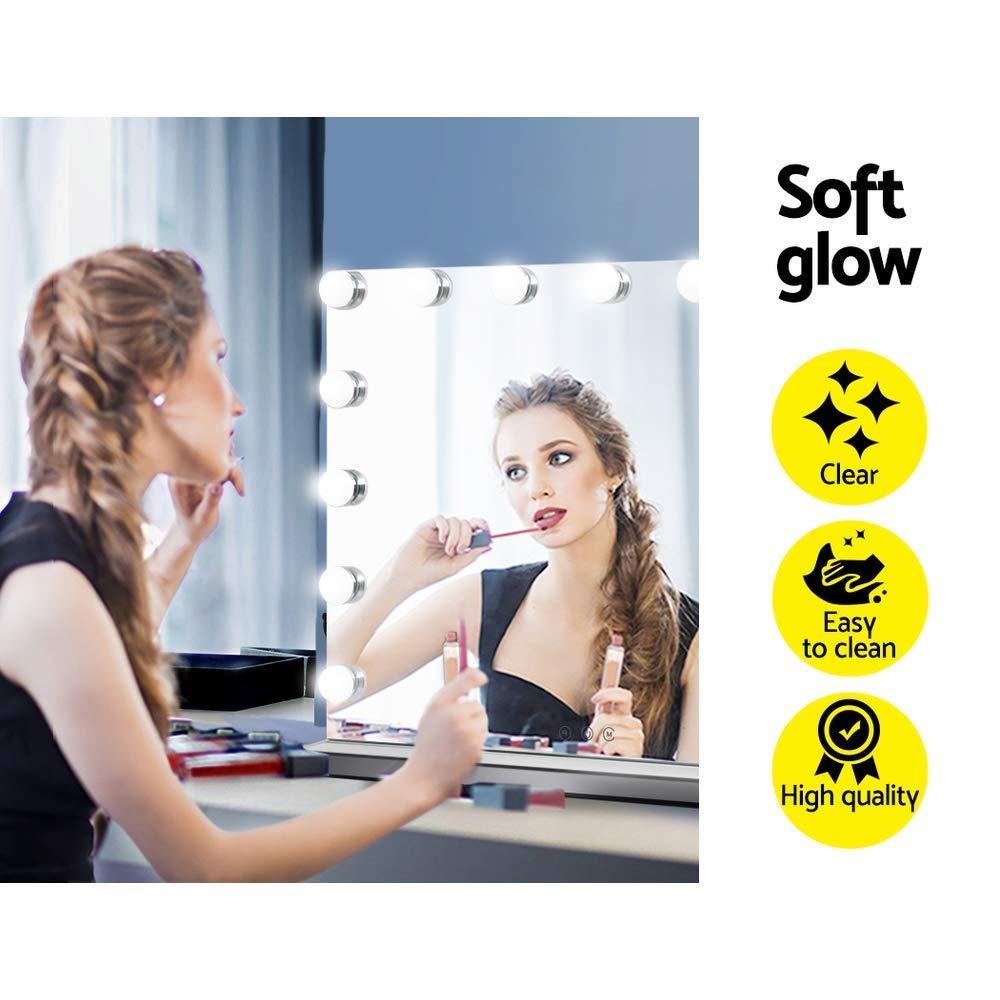 Vanity mirror of girls