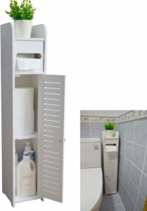 Small Bathroom Storage Corner Floor