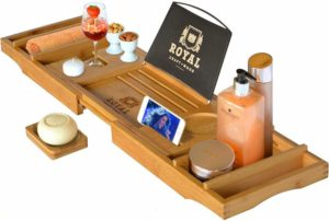 WOOD Luxury Bathtub Caddy Tray