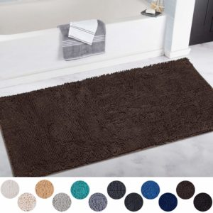 Shaggy Bathroom Rug