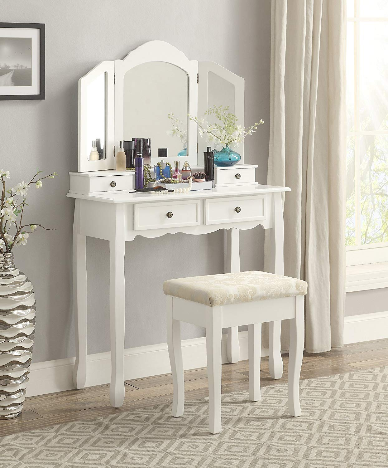 Cheap vanity desk