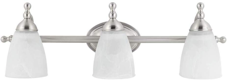 Vanity Light, Satin Nickel Finish