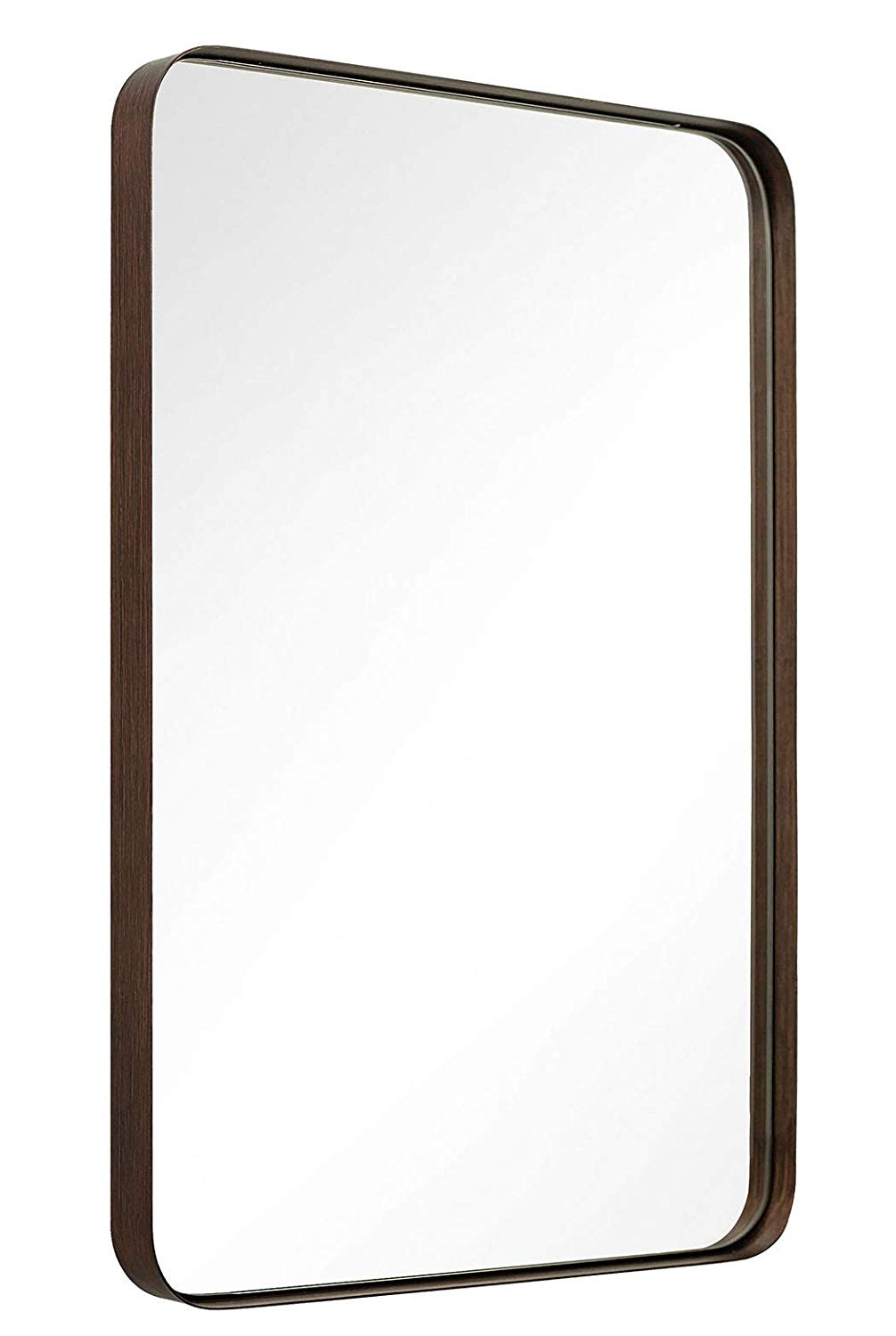 Wall Mirror Brushed Bronze