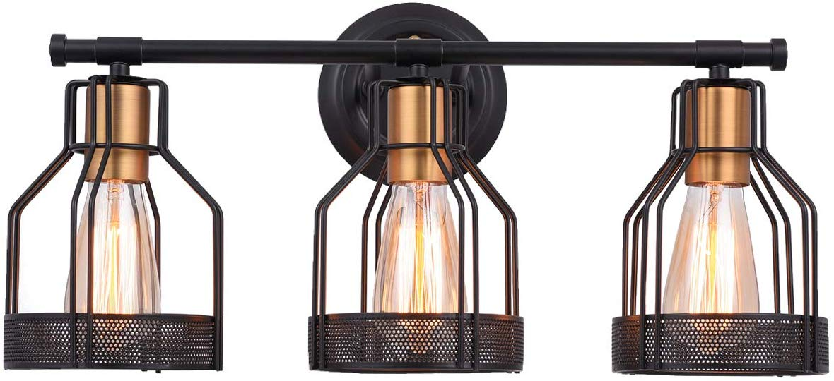 Industrial Bathroom Vanity Light