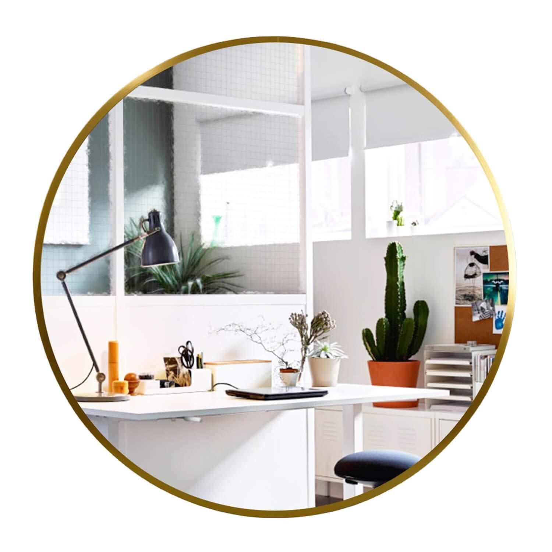 Elevens Wall Round Mirror - Popular