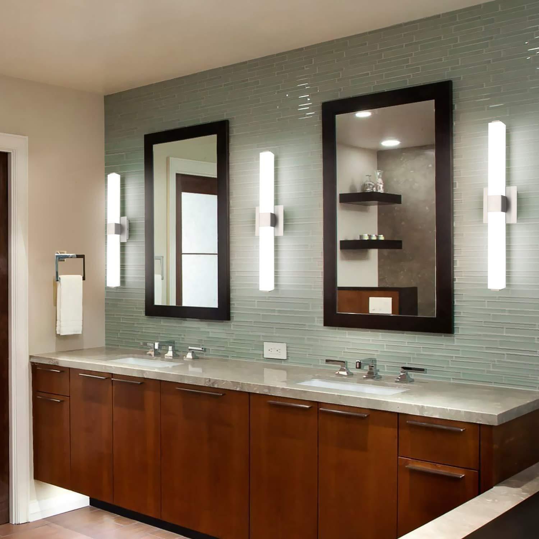 Brushed Nickel for Bathroom