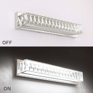 Crystal Bathroom Vanity Lighting