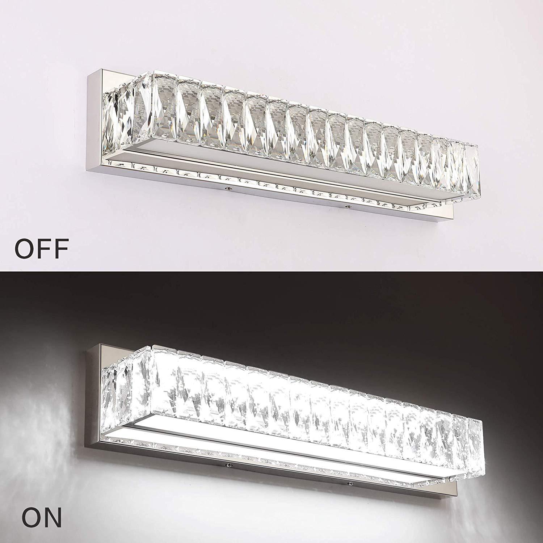 Crystal Bathroom Vanity Lighting