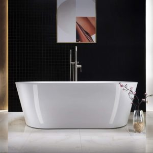 white Acrylic Freestanding Bathtub